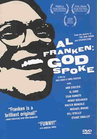 AL FRANKEN:GOD SPOKE BY HEGEDUS,CHRIS (DVD)